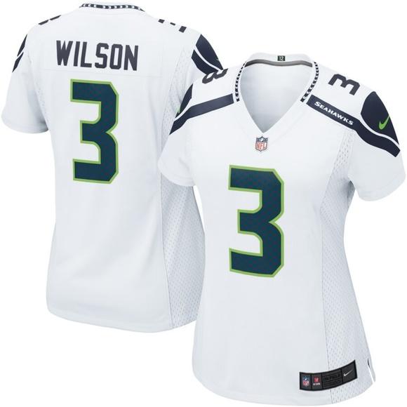 online retailer 2671c d6bcf Women's Seattle Seahawks Russell Wilson Jersey